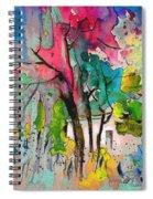La Provence 17 Spiral Notebook
