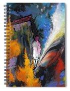 La Provence 23 Spiral Notebook