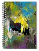 La Provence 24 Spiral Notebook