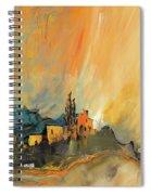 La Provence 25 Spiral Notebook