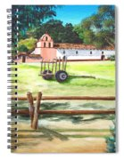 La Purisima With Fence Spiral Notebook