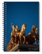 La Quadriga De L'aurora Spiral Notebook