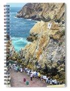 La Quebrada Spiral Notebook