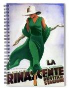 La Rinascente Novita Di Stagioni 1931 Spiral Notebook