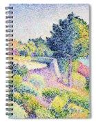 La Route Sur La Cote Spiral Notebook