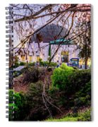 L A Skyline With Griffith Observatory - Panorama Spiral Notebook