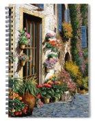 La Strada Del Lago Spiral Notebook