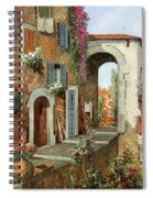 La Stradina Tra I Campi Rossi Spiral Notebook