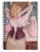 La Toilette Spiral Notebook