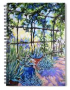 La Tonnelle The Arbor Spiral Notebook