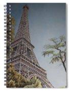 La Tour Eiffel 2 Spiral Notebook