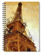La Tour Eiffel Spiral Notebook