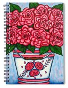 La Vie En Rose Spiral Notebook