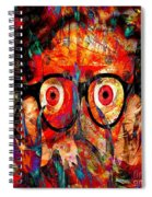 Label The Brain Through The Eyes - Lords Of Madness Spiral Notebook