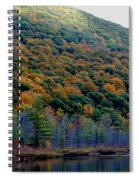 Labrador Pond Hillside Spiral Notebook