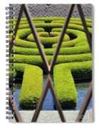 Labyrinth At The Getty Spiral Notebook