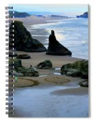 Labyrinths At Bandon Beach Spiral Notebook