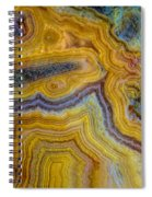 Lace Agate Stone 4 Spiral Notebook