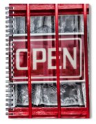 Lace And Bars  Spiral Notebook