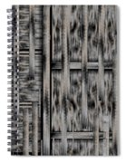 Lace Landscape Abstract Shimmering Lovely In The Dark Spiral Notebook