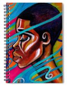 Laced Spiral Notebook
