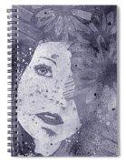 Lack Of Interest - Silver Spiral Notebook
