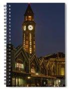 Lackawanna Clock Tower Spiral Notebook