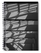 Ladders In The Sky Spiral Notebook