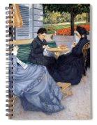 Ladies Sewing Spiral Notebook
