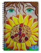 Lady Bug Peace Spiral Notebook