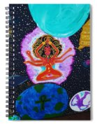 Lady Earth Spiral Notebook