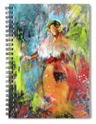 Lady Edith Spiral Notebook
