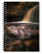 Lady Falls Waterfall Country Spiral Notebook