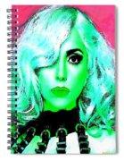 Lady Gaga Spiral Notebook