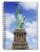 Lady Liberty Spiral Notebook