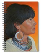 Lady Of Sapa Spiral Notebook