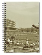 Lady Of The Derby Spiral Notebook