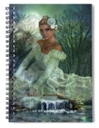 Lady Of The Lake  Spiral Notebook