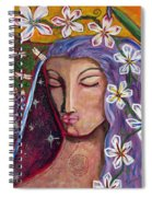 Lady Peace Spiral Notebook