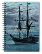 Lady Washington-3 Spiral Notebook