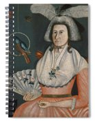 Lady With Her Pets. Molly Wales Fobes Spiral Notebook