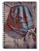 Lady's Hats Spiral Notebook
