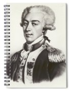 Lafayette Spiral Notebook