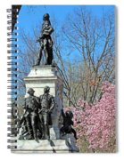 Lafayette Square Named For General Marquis Gilbert De Lafayette Spiral Notebook