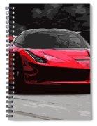 La Ferrari Spiral Notebook
