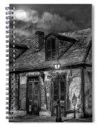 Lafittes Blacksmith Shop Bw Spiral Notebook