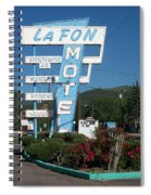 Lafon Motel Spiral Notebook