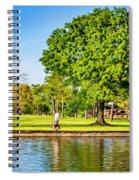 Lafreniere Park 2 - Paint Spiral Notebook