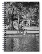 Lafreniere Park 3 - Bw Spiral Notebook