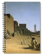 Laghouat In The Algerian Sahara Spiral Notebook